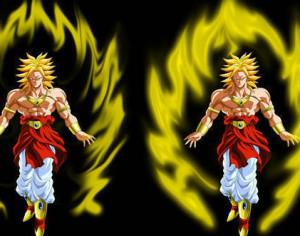 Super Saiyan Auras Brushes for CS5 Photoshop brush