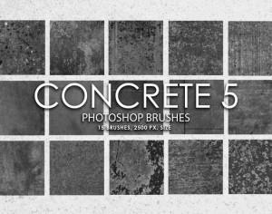 Free Concrete Photoshop Brushes 5 Photoshop brush