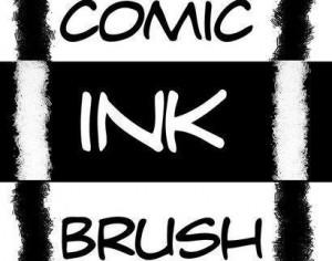 Comic Ink Brushes by Mateo Photoshop brush