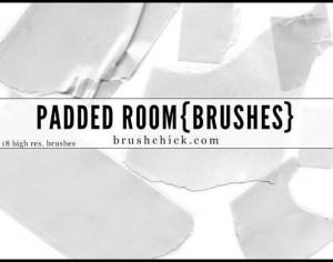Padded Room Tape Brushes Photoshop brush