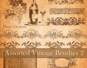 Assorted Vintage Brushes 2 Photoshop brush
