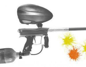Paintball Photoshop brush