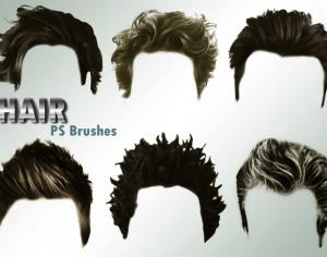 20 Hair Male PS Brushes abr. vol.4 Photoshop brush