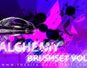 Alchemy vol 1 Photoshop brush