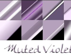 Muted Violets Photoshop brush