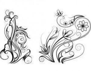 Free Ornamental Swirl Brushes Photoshop brush