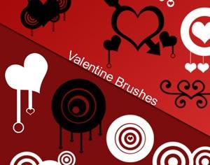 Valentine Brushes Photoshop brush