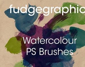 Watercolour Brushes Photoshop brush