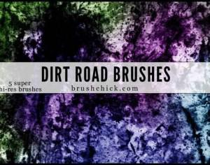 Dirt Road Brush Pack Photoshop brush