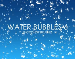 Free Water Bubbles Photoshop Brushes 6 Photoshop brush