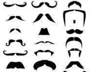 Moustaches Brush Pack Photoshop brush