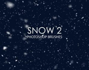 Free Snow Photoshop Brushes 2 Photoshop brush