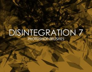 Free Disintegration Photoshop Brushes 7 Photoshop brush