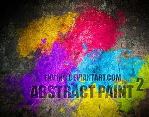 Abstract Paint 2 Photoshop brush