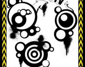 STV Circles and Arrows Brush Set Photoshop brush
