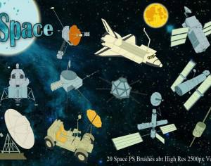 Space PS Brushes abr Vol.4 Photoshop brush