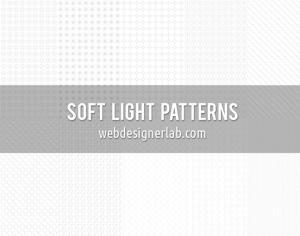 Soft Light Patterns Photoshop brush