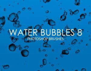 Free Water Bubbles Photoshop Brushes 8 Photoshop brush