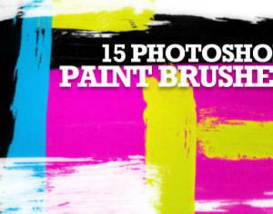 Free Hi-Resolution Paint Stroke Photoshop Brushes Photoshop brush