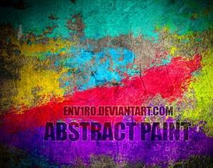Abstract Paint 1 Photoshop brush