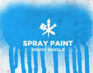 Spray Paint Photoshop brush