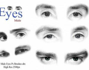 Male Eyes Ps Brushes  Photoshop brush