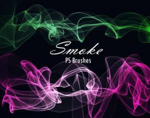 20 Smoke PS Brushes abr. Vol.11 Photoshop brush