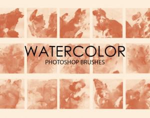 Free Watercolor Wash Photoshop Brushes 6 Photoshop brush