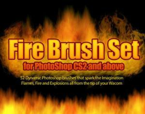 Fire Photoshop Brushes Photoshop brush