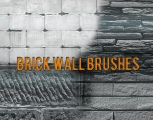 Brick Wall Photoshop brush