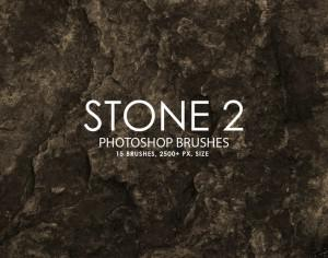 Free Stone Photoshop Brushes 2 Photoshop brush