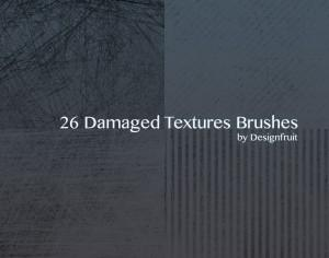 Damaged Textures Brushes Photoshop brush