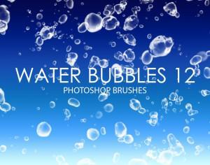 Free Water Bubbles Photoshop Brushes 12 Photoshop brush