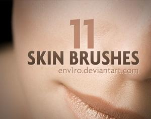 11 Skin Brushes Photoshop brush