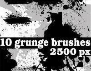 Grunge Photoshop Brushes Photoshop brush