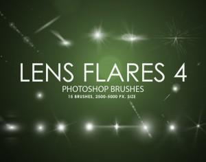 Free Lens Flares Photoshop Brushes 4 Photoshop brush