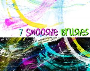 Swooshie Brushes Photoshop brush