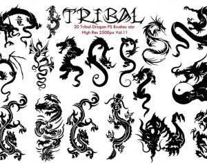 Tribal PS Brushes Vol.11 Photoshop brush