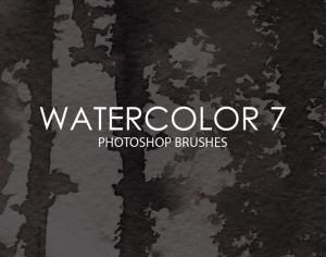 Free Watercolor Photoshop Brushes 7 Photoshop brush