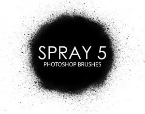 Free Spray Photoshop Brushes 5 Photoshop brush