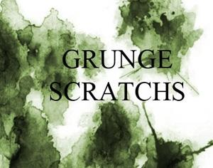 Grunge Scratches Photoshop brush