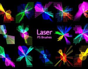 20 Laser PS Brushes abr. vol.11 Photoshop brush