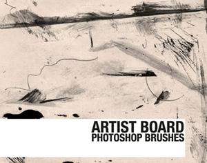 Artist Board Photoshop brush