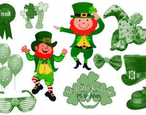 "20 ""St Patricks Day"" PS Brushes abr.Vol. Photoshop brush"
