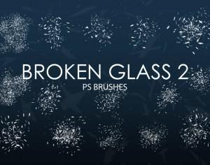 Free Broken Glass Photoshop Brushes 2 Photoshop brush
