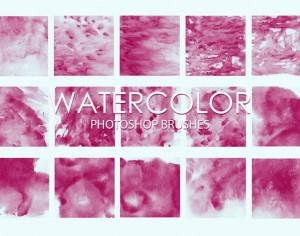 Free Watercolor Photoshop Brushes 4 Photoshop brush