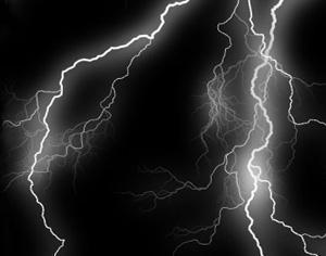 Lightning Photoshop brush