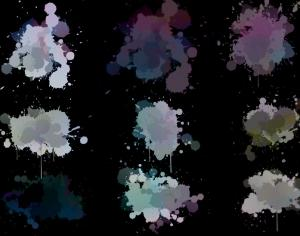 Paint Splatter Brushes Photoshop brush