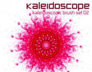 Kaleidoscope Photoshop brush