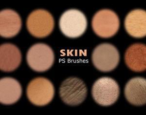 20 Human Skin PS Brushes abr Vol. 4 Photoshop brush